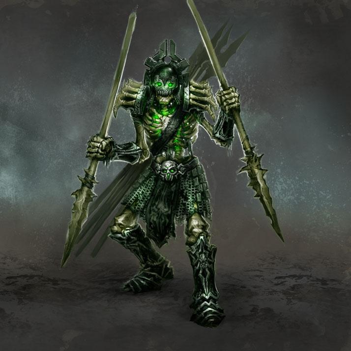 Костяные копейщики (Skeletal Spearman)