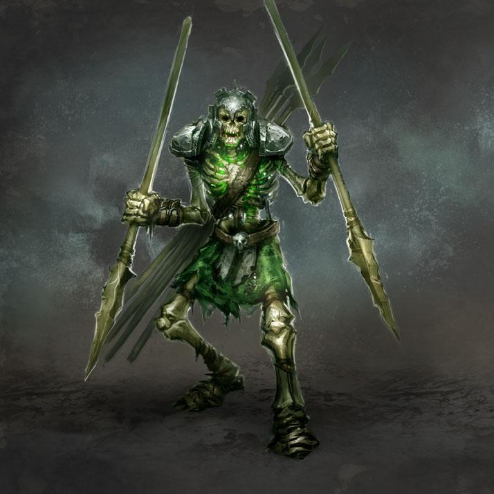 Костяные воины (Skeleton)