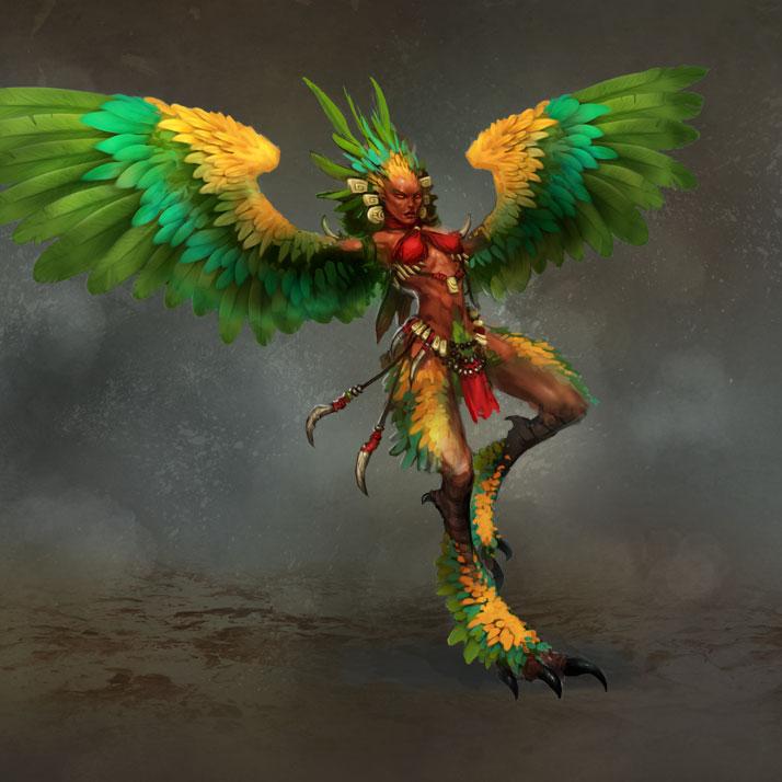Гарпии (Harpy)