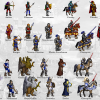 The Evolution of the Knight in Heroes of Might and Magic I-III