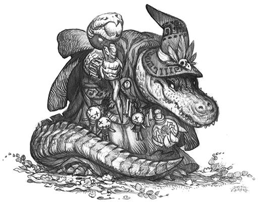 GatorkinCaster