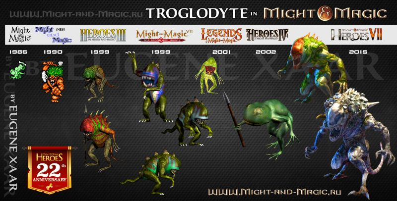 Troglodyte in Might and Magic