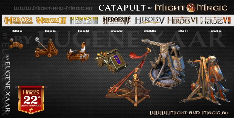 Catapult in Might and Magic