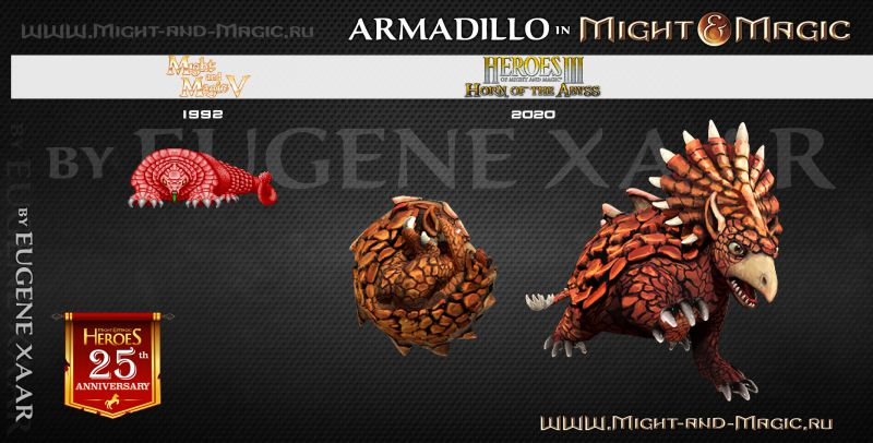Arnadillo in Might and Magic
