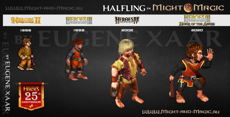 Halfling in Might and Magic