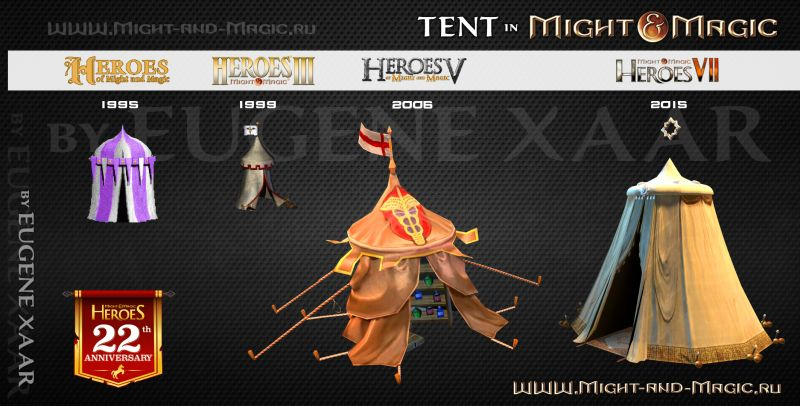 Tent in Might and Magic