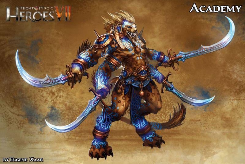 Heroes 7 Academy Rakshassa