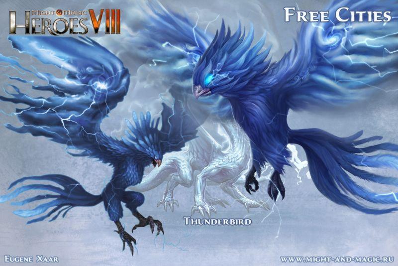 Might & Magic: Heroes VIII 8 Free cities 7 thunderbird