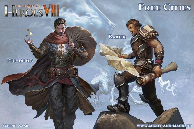 Might & Magic: Heroes VIII (8) Free Cities Raider