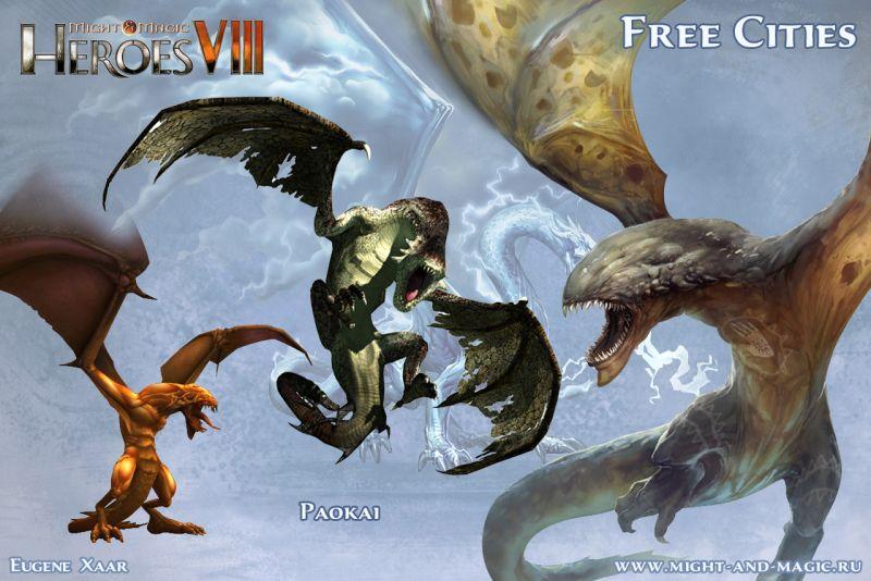 Might & Magic: Heroes VIII 8 Free cities 7 Paokai