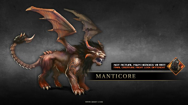 MM Dungeon Manticore