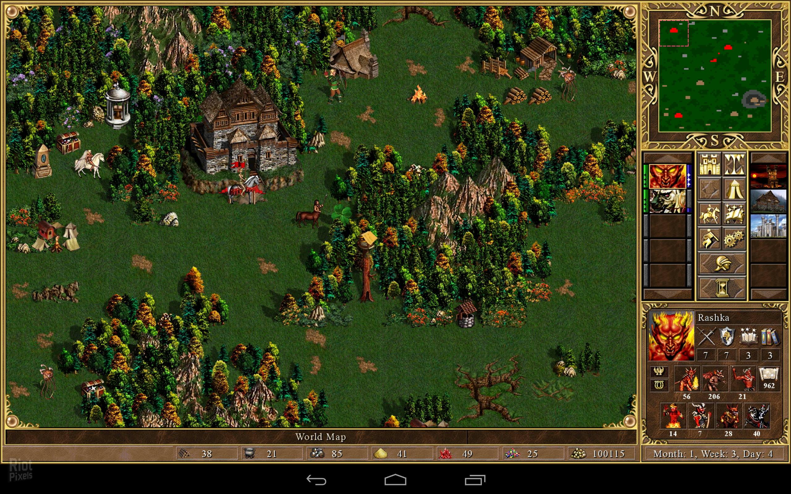 Герои Меча И Магии 2 Андроид